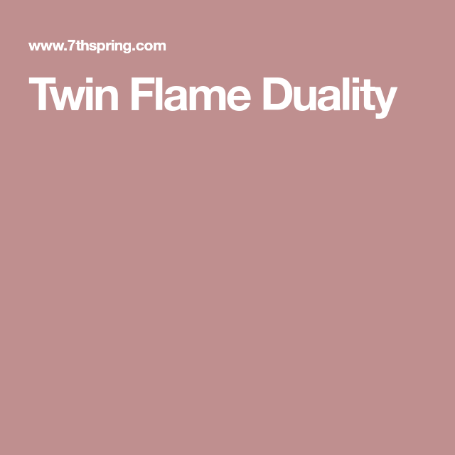 Twin Flame Duality | Occult | Twins