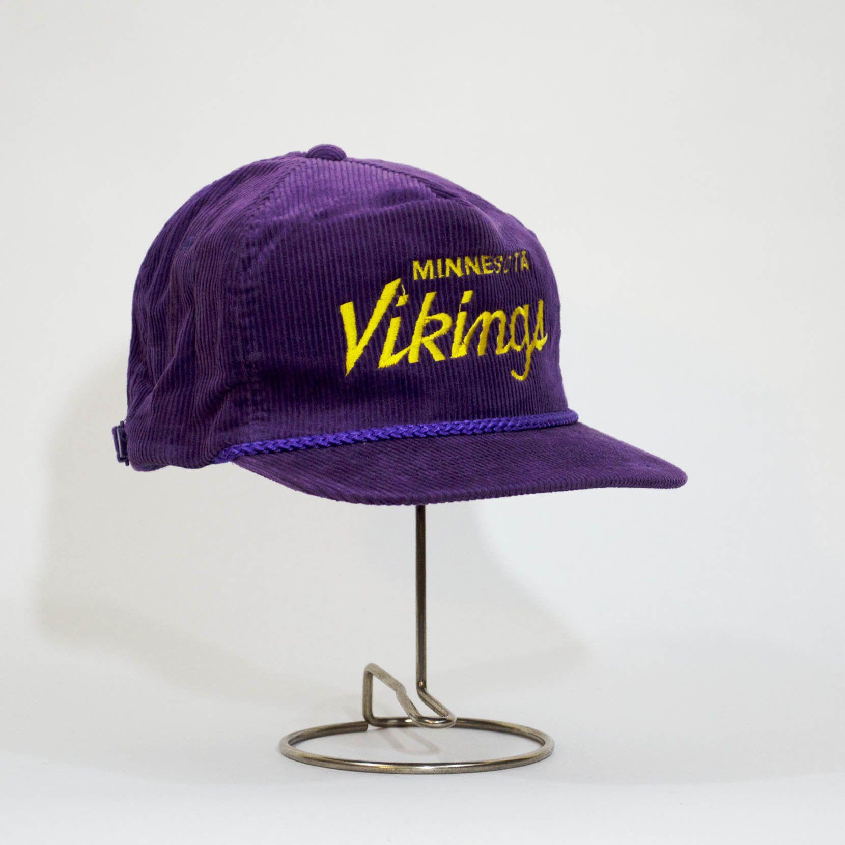 21bc65ef 1970'S Minnesota Vikings Corduroy Hat | Products | Minnesota vikings ...