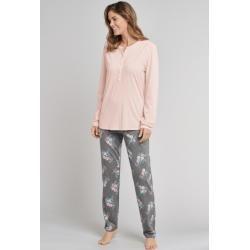 Pyjamas lang für Damen #trendingmakeup