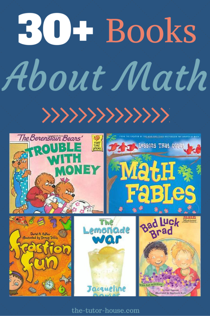 30+ Books About Math. Students can read fun stories while working on ...