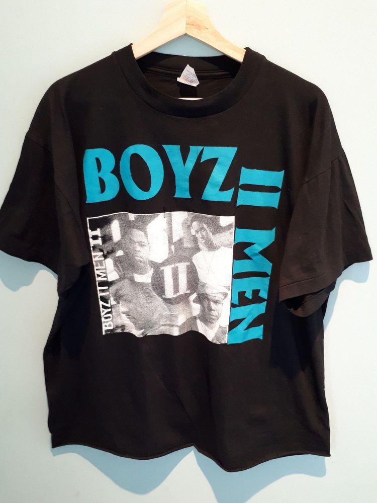 777a6803a04d Vintage 90's Boyz II Men Babyface tour 95 rap hip hop tee size XL single  stitch #fashion #clothing #shoes #accessories #vintage #mensvintageclothing  (ebay ...