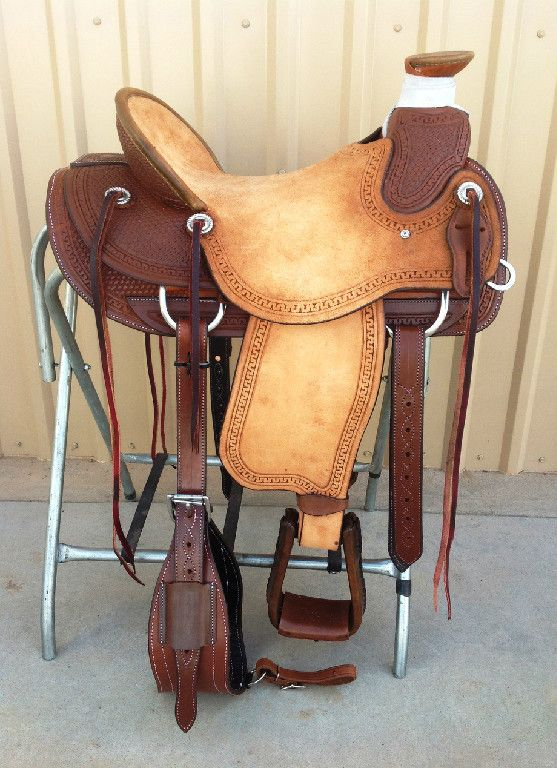 Corriente Saddle Co  $800 CSW 432 Wade A-Fork Half Breed Rough Out