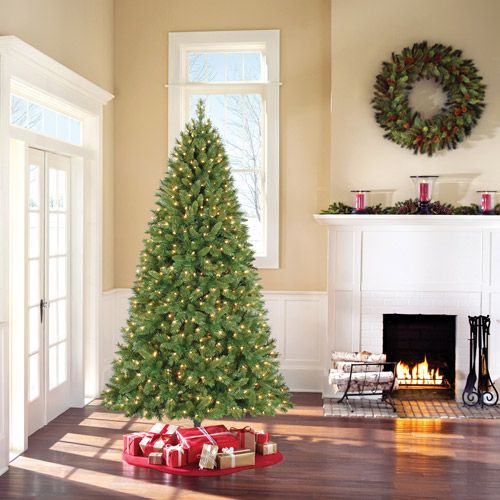 Holiday Time Pre-Lit 7.5' Kennedy Fir Artificial Christmas