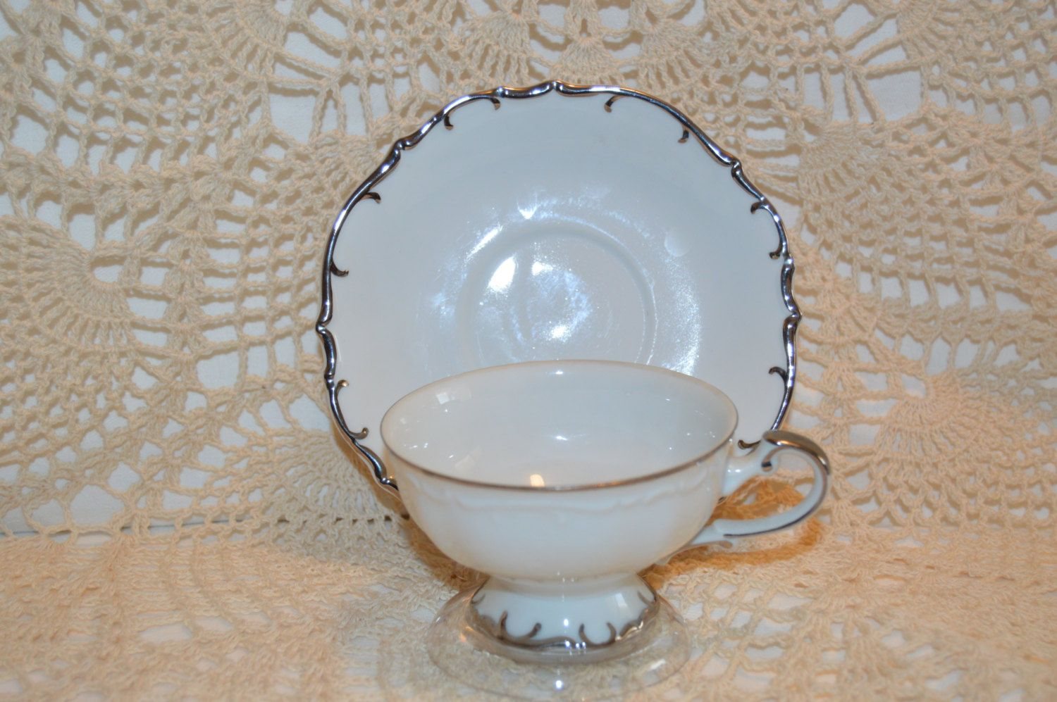 Bristol Fine China Nobility Pattern S3213 Cup and Saucer Made in ...