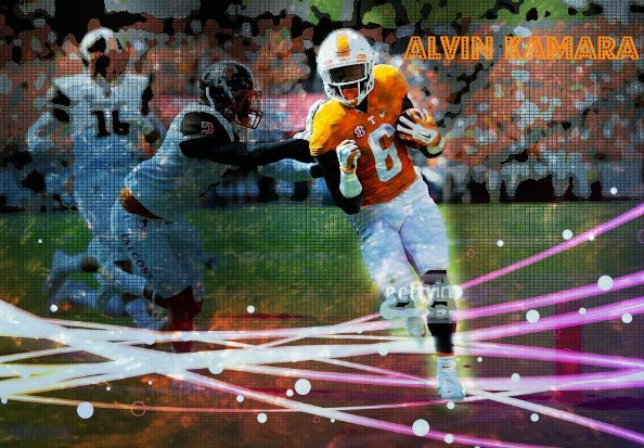 Alvin Kamara and Jalen Hurd lead Tennessee past Bowling