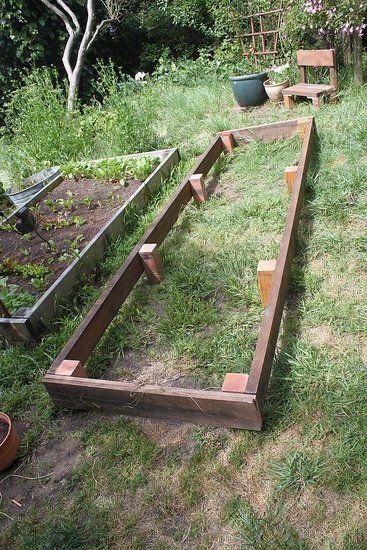 How to Build a Garden Box Out of Scrap Wood | Diy garden box, Garden ...