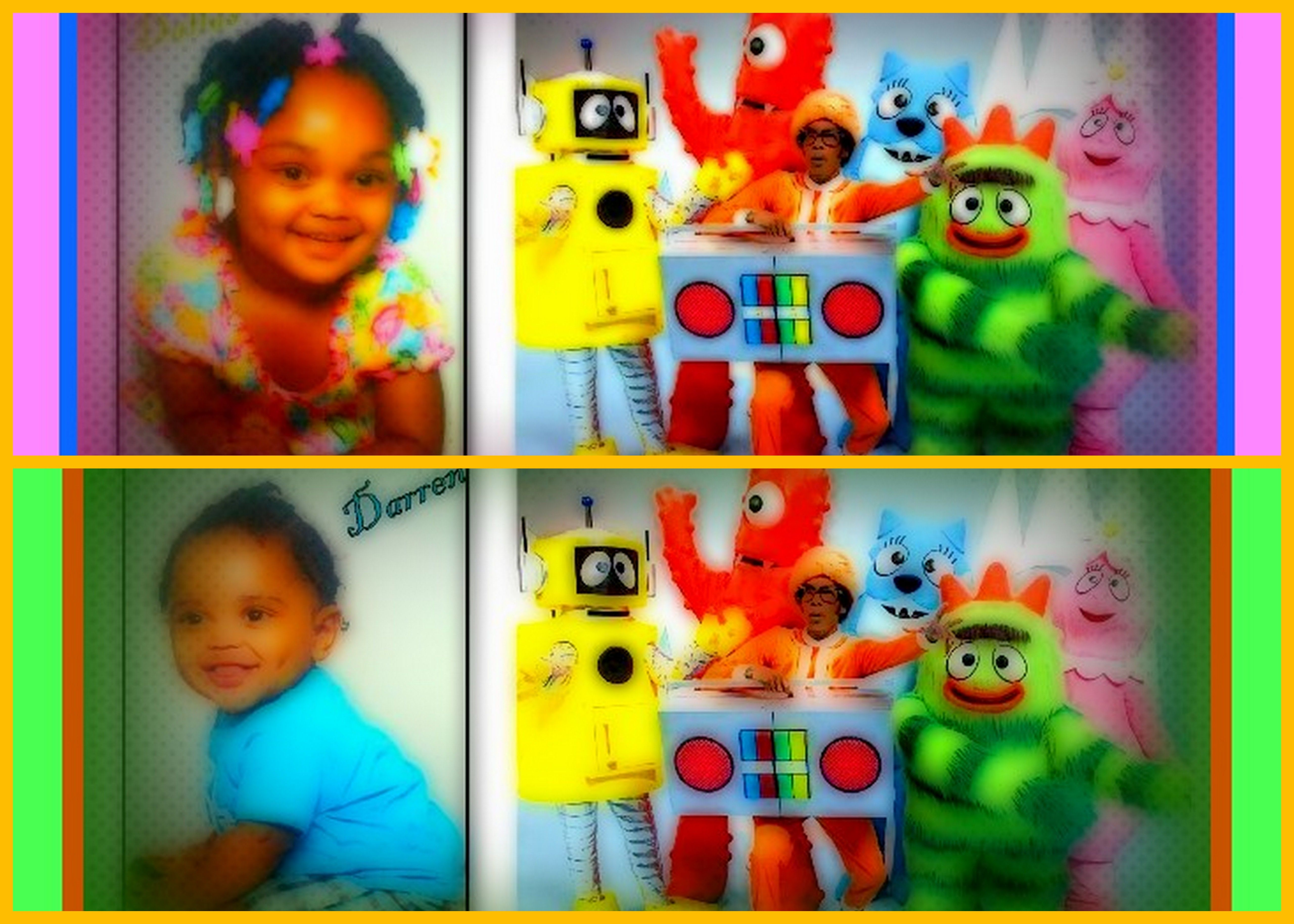 their YGG bday party 2012
