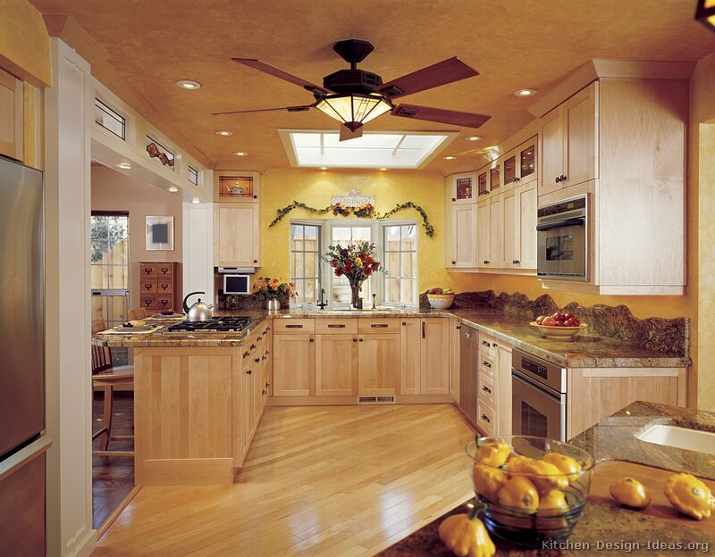 Kitchen Idea of the Day: Natural & light wood kitchens ...