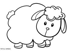 Muso Pecora Da Colorare.Stampate E Colorate Le Nostre Pecorelle Disegni Disegni Da