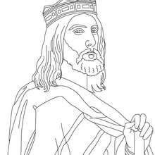 Good King Dagobert Of Frnace Coloring Page Coloring Page
