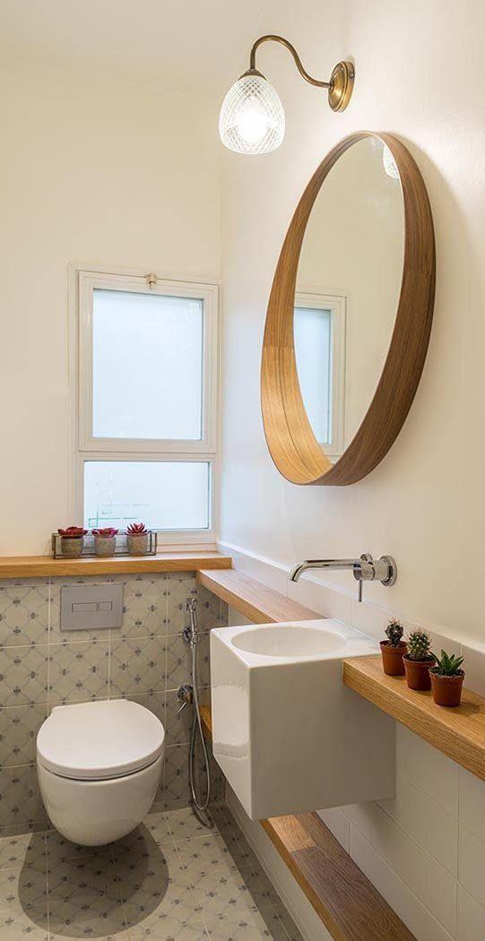 ▷ Ideas Para Baños Pequeños ⇒ Un Aseo Más Funcional Small bathroom