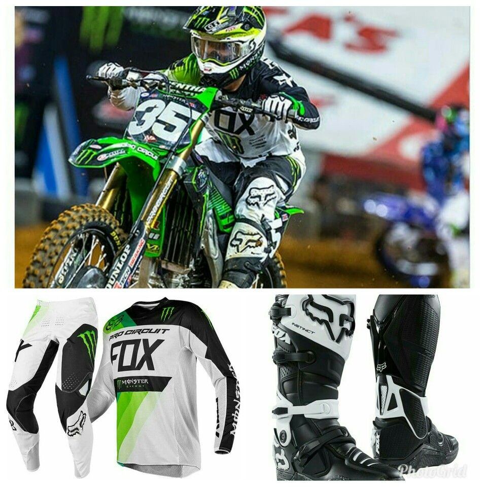 07ba5cb423a7f Gear Check with Austin Forkner Racewear: 360 Monster Pro Circuit Limited  Edition Boots: Instinct