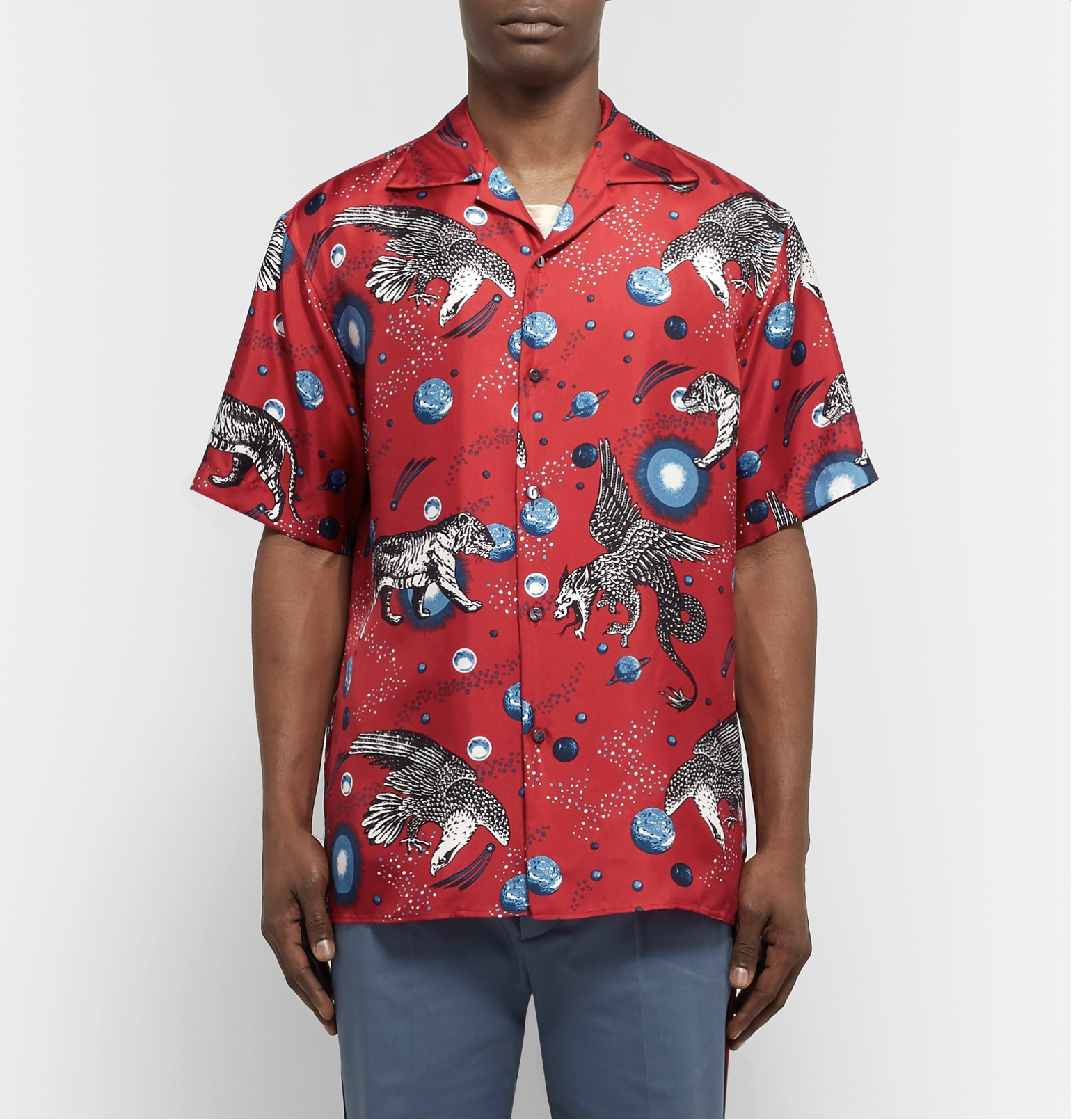cb0ac505d Gucci Space Animals Printed Shirt / $1040 AUD. SHOP NOW. | DAILY ...