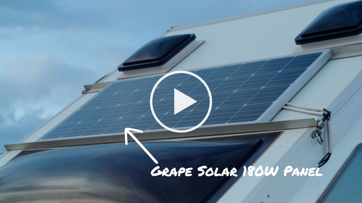How To Add Solar To Your Truck Solar Roof Solar Panel Aliner Campers