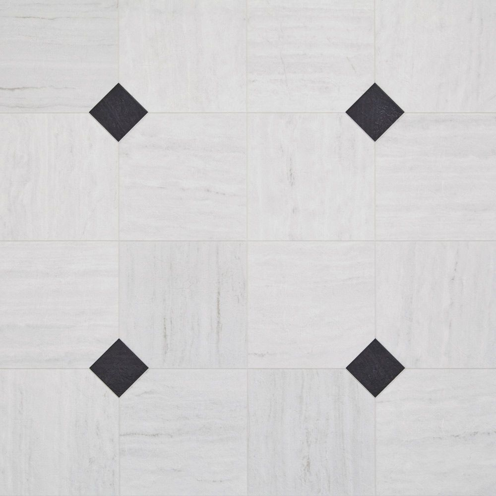 Black And White Kitchen Vinyl Flooring art deco layout design inspiration resilient vinyl floor for