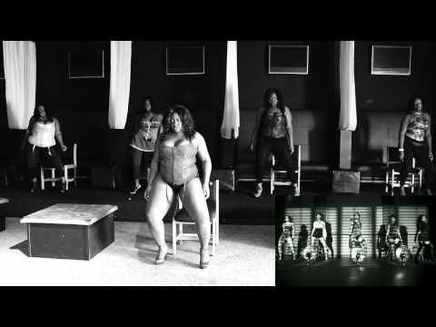 nsfw beyonce 'dance for you' - juicy dilemmaz plus size dancers
