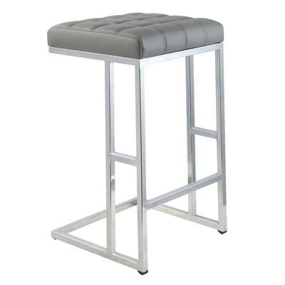 Worldwide Homefurnishings Inc Ace Counter Stool Grey