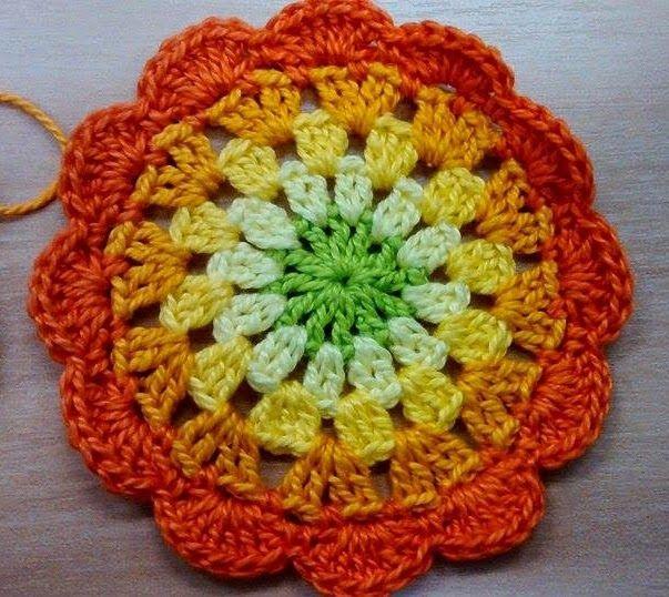 ColoridoEcletico: Programa Arte Brasil - Porta Copos em Crochet e Dicas para combinar cores