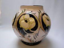 Moorcroft florero de la cerámica Anillo de Oro - Signed Edición limitada - Made in England