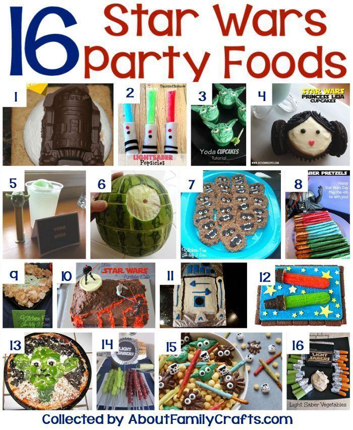 75+ DIY Star Wars Party Ideas