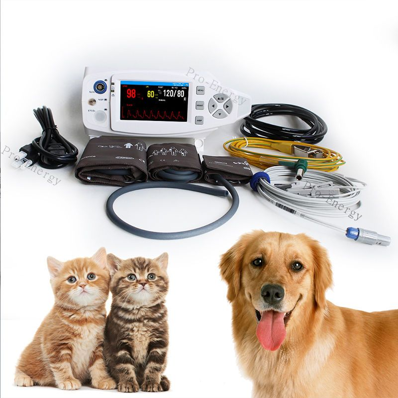 Vital Signs Veterinary Patient Monitor Portable Vet Machine