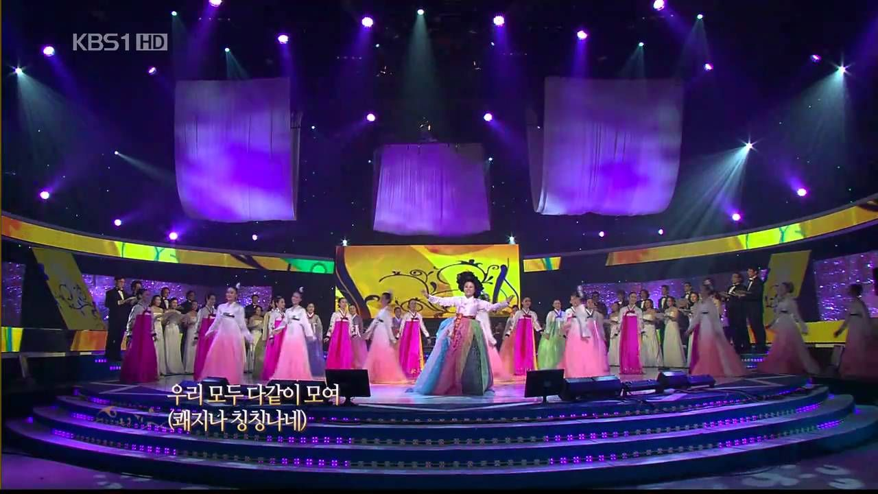 쾌지나 칭칭나네(Let's Sing and Dance Together)-김영임 (Kim Young-Im) Korean Folk Song - YouTube