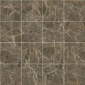 Textures Texture seamless | Sicilian amber brown marble tile ...