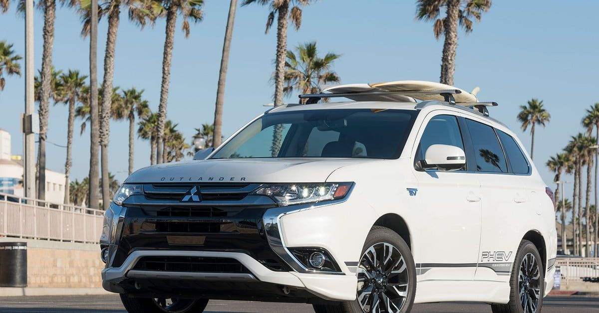 Mitsubishi's unique Outlander PHEV is an affordable way to