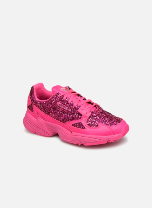 Baskets Adidas Originals Falcon W Rose #sneakers#baskets