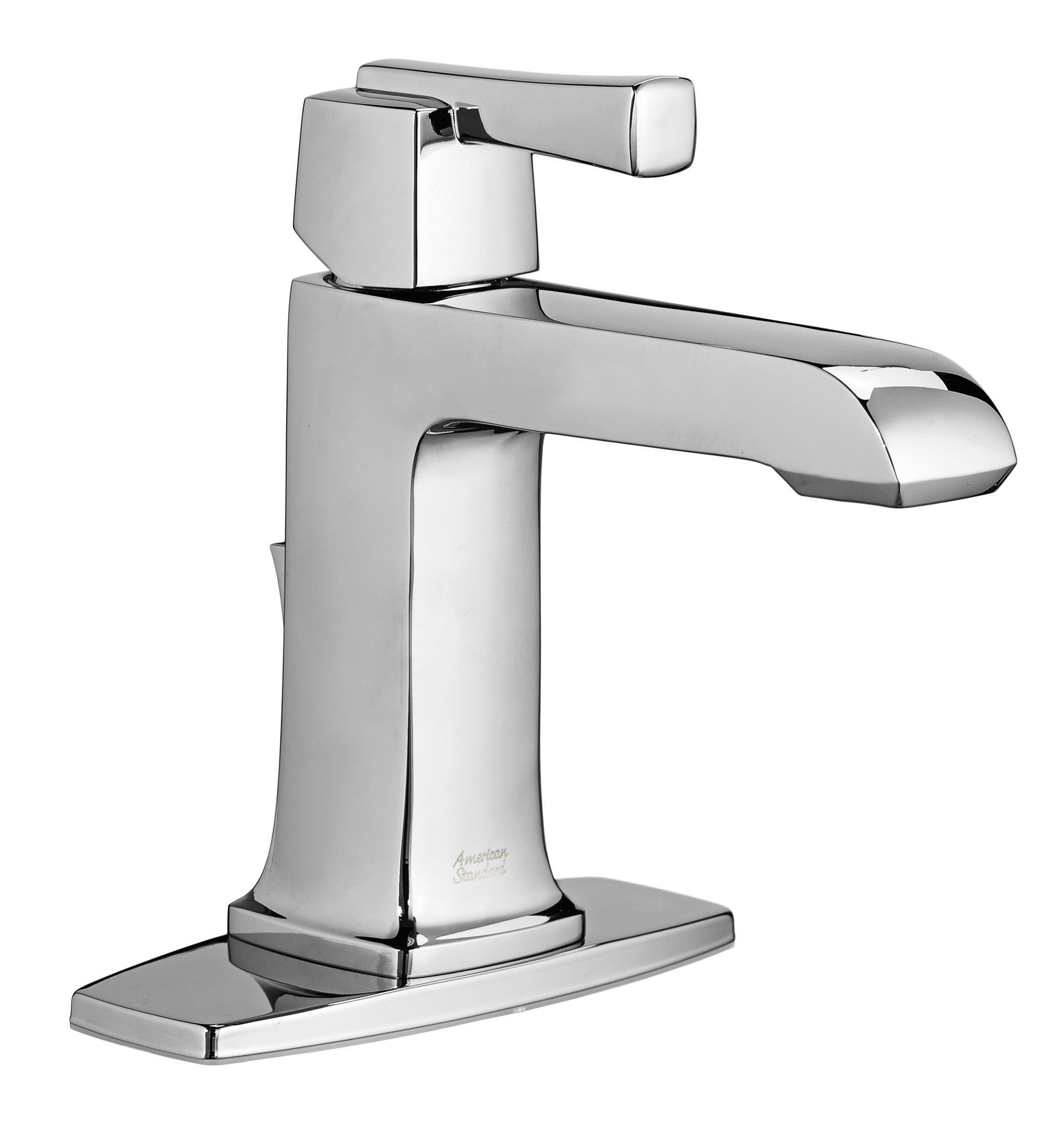 Single Hole Bathroom Faucet with Drain