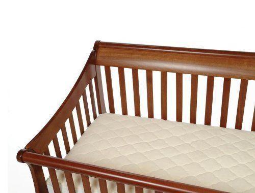 Snoozy Organic Cotton Waterproof Crib Mattress Pad Safe Stay On Corners 28 X 52 Fiberlinkssnoozy Crib Mattress Pad Waterproof Crib Mattress Pad Crib Mattress