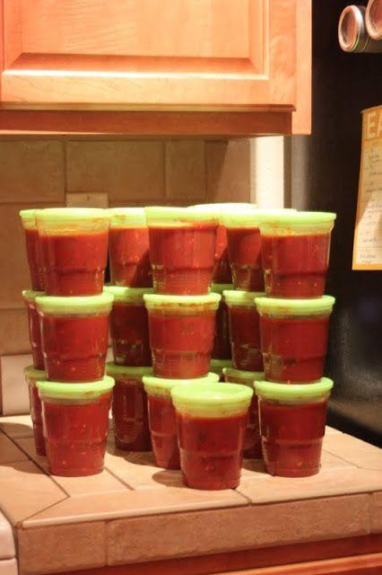 Embellish: {recipe} Homemade Arrabbiata Marinara Sauce
