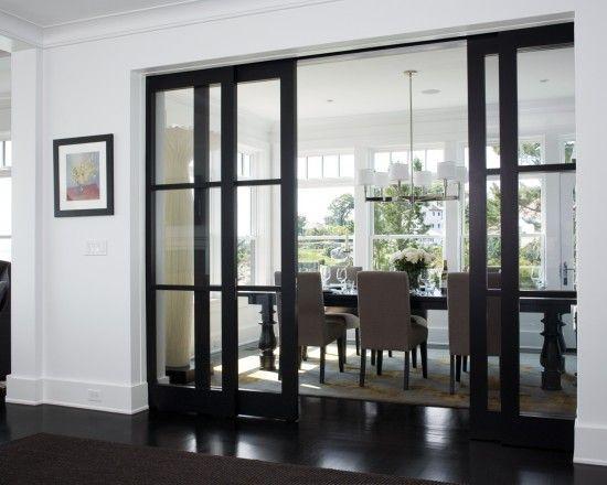 Glass Sliding Pocket Door Design Pictures Remodel Decor And Ideas
