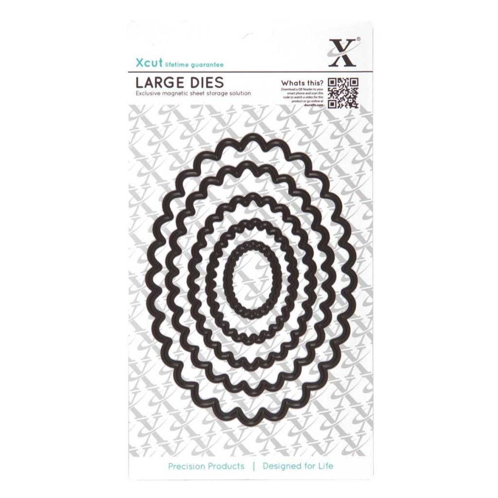 Circle Docrafts Nesting Dies - Dies Xcut Circles Pack pack Of 5