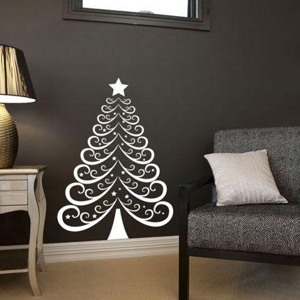 Christmas Tree 2 Wall Decal - hardtofind $5500 Murals