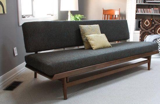 Modern Furniture Upholstery 1963 reupholstered scandinavian couch. | furniture | pinterest