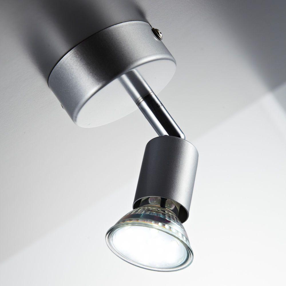Wunderbar Lampe 3 Flammig Das Beste Von Led Decken-lampe Wohnzimmer Schwenkbar Gu10 Metall Wand-spot