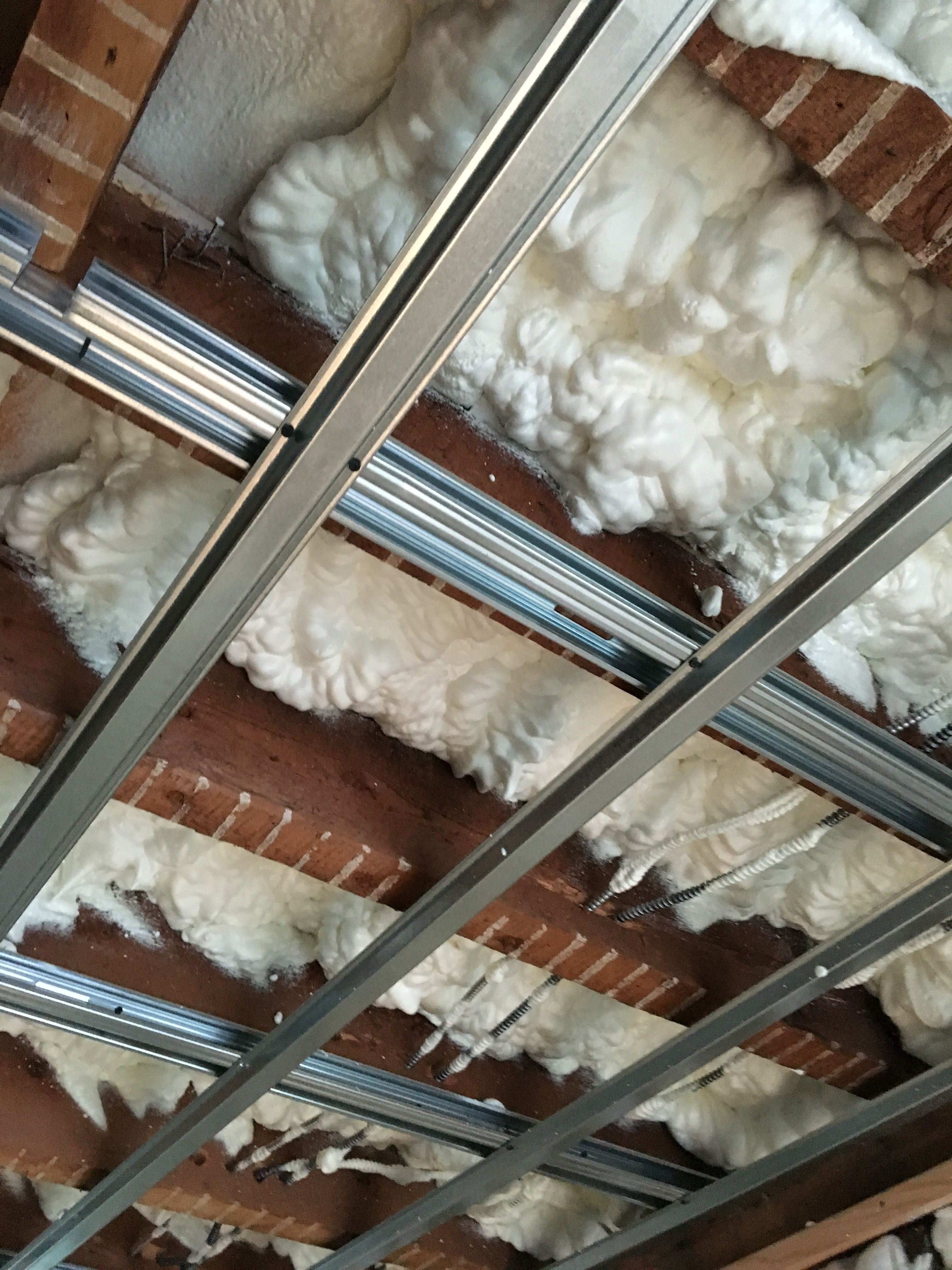 Foam Insulation is a great way to insulate ceilings for