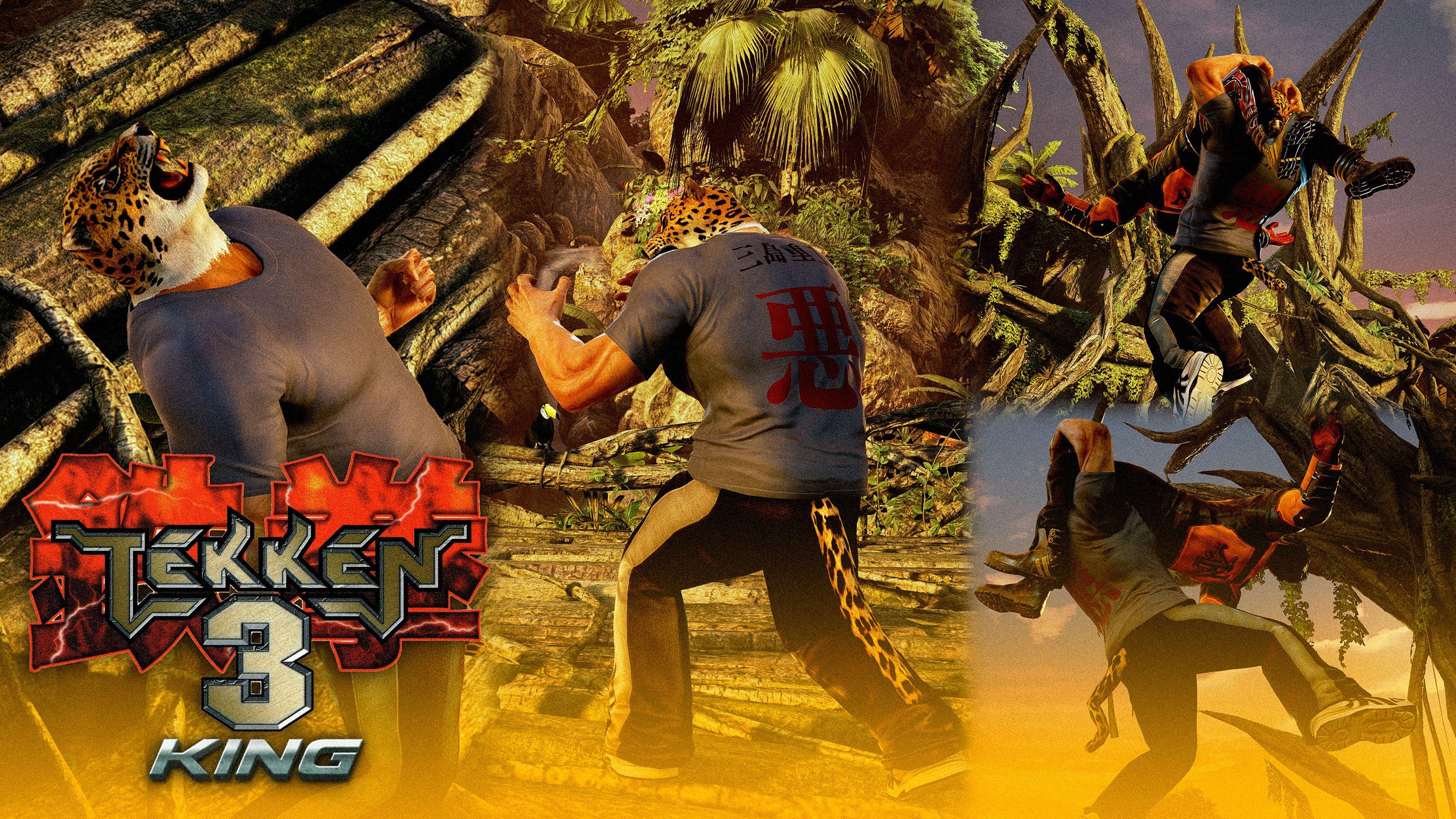 Tekken 3 Inspired T Shirt King By Mattplara Tekken 3 Inspiration T Shirt