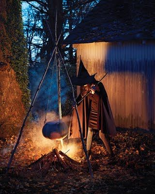 outdoor decorations witches cauldron spooky for halloween witch