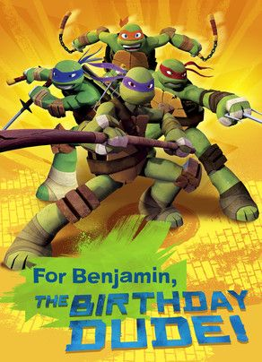 Turtle Power Birthday Tmnt 2012 Ninja Turtles Birthday Party Tmnt Artwork