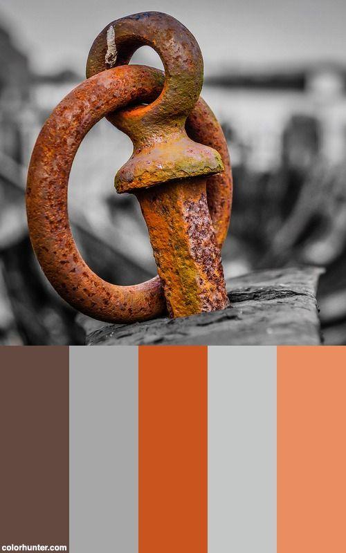 Glorious Rust Color Scheme Rust Color Schemes Color Schemes Colour Palettes Rust Color Paint