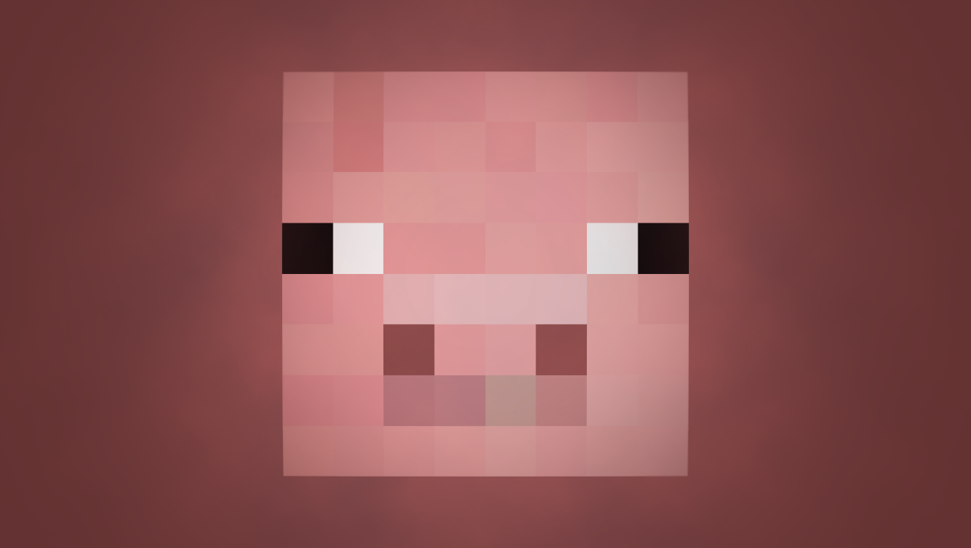 Related Pictures Minecraft Baby Pig Facea Pig Wallpaper
