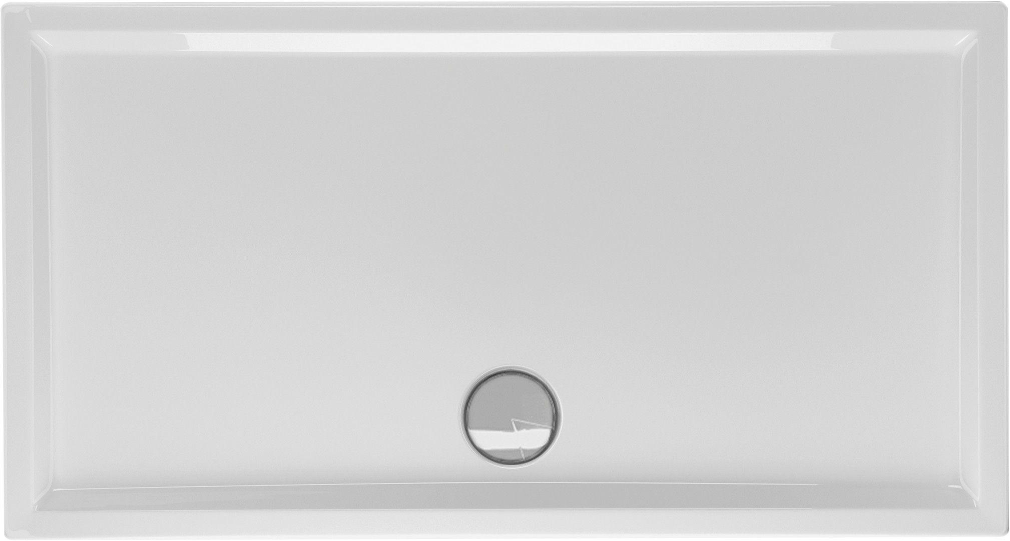 Duschwanne flach 150 x 80 x 4 cm Duschwanne, Duschwanne