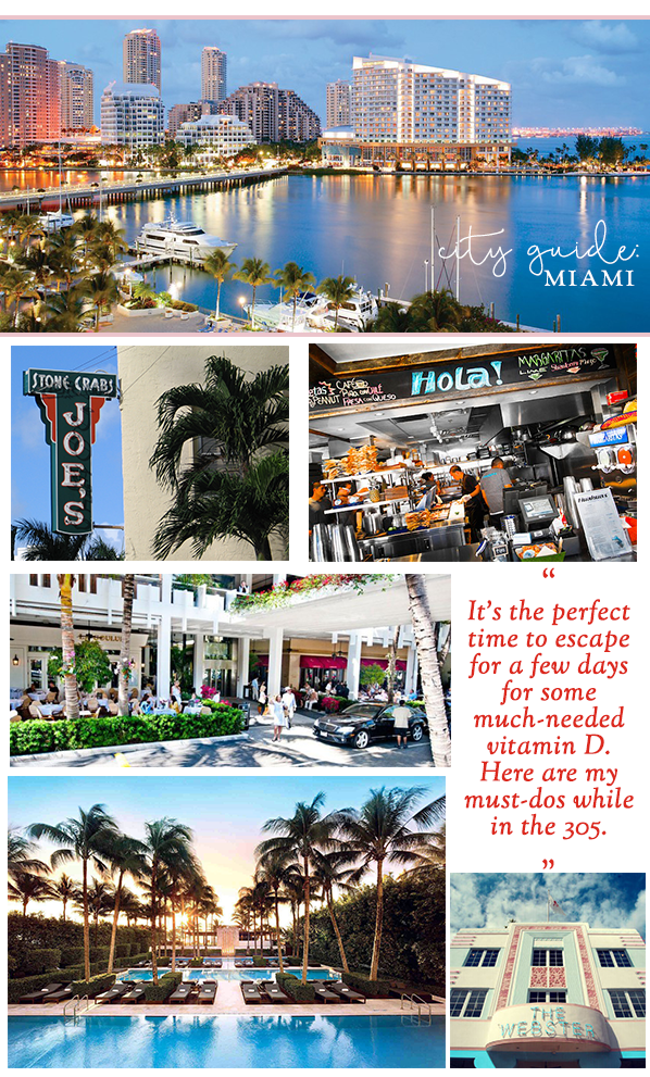 City Guide to Miami Long weekend getaways, City
