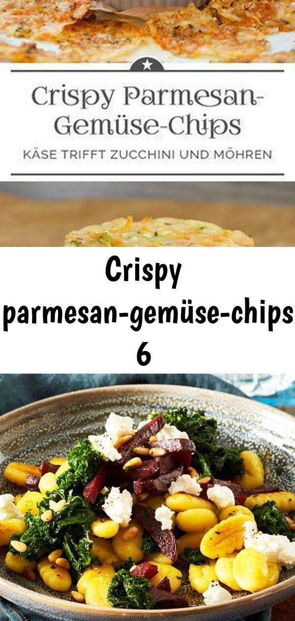 Crispy parmesangemüsechips 6 Crispy ParmesanGemüseChips Grünkohl muss eeewig kochen und durchziehen Weit gefehlt TASTY AND DELICIOUS GARLIC BUTTER HERB STE...