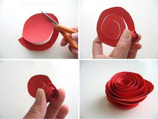 Marco con flores de papel | Manualidades para niños