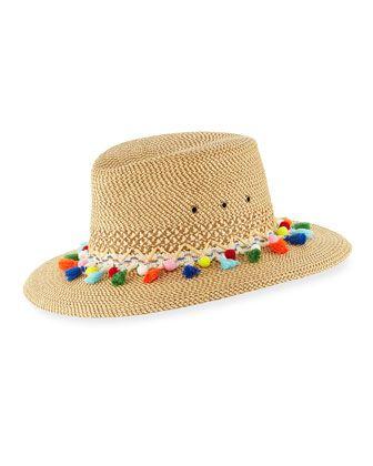 74eb6204a2b53 Bahia Squishee Packable Sun Fedora Hat Beige