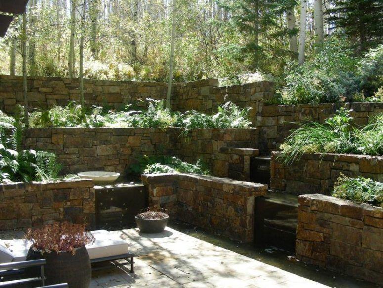 Terrace Garden Design Ideas Green Grass In The Near Homesthetics One ...