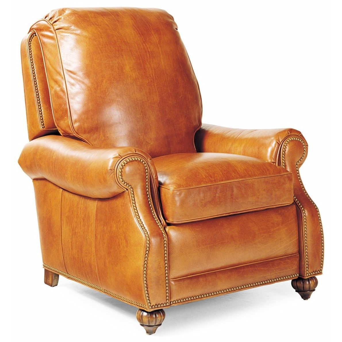 Motion Seating Journey Traditional Push Back Recliner With Nailheads By Hancock Amp Moore